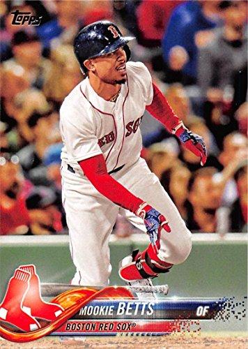 2018 Topps #140 Mookie Betts Boston Red Sox Baseball Card