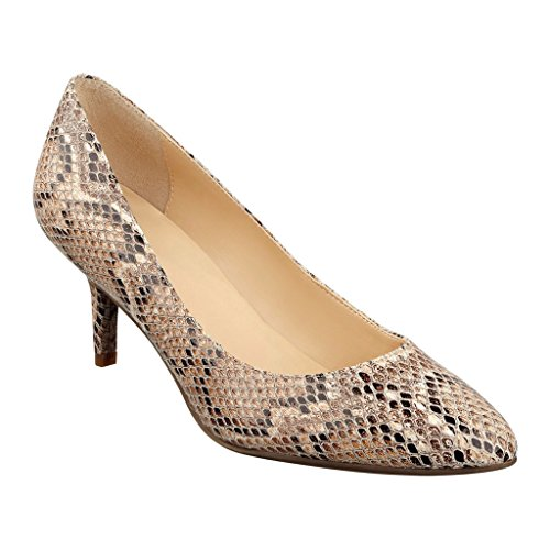 liz-claiborne-joelle-pumps-womens-natural-snake-75-wd
