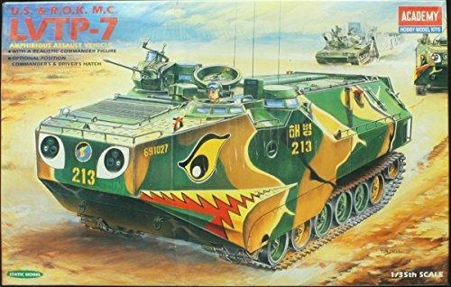 Academy 1:35 U.S. & R.O.K. M.C. LVTP-7 Amphibious Assault Vehicle #1344