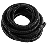 Uxcell a15071600ux0671 Flexible Bellows Corrugated Conduit Tube Tubing Pipe 20 Foot Length