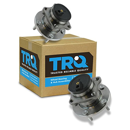 TRQ Rear Wheel Bearing Hub Assembly Driver Passenger Pair for CX9 CX-9 FWD ()