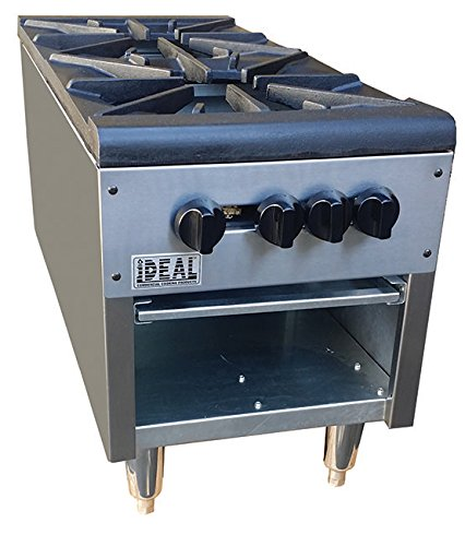 18'' Double Stock Pot Range (Made in USA) by Ideal Commercial Cooking Products, Inc