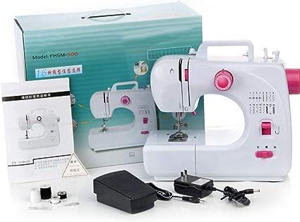 GAME Maple Máquina de Coser doméstica eléctrica, pequeña Mini ...