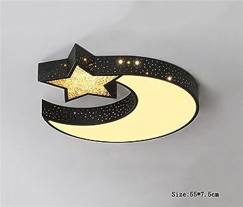 Deko Deckenleuchten Gemütliche Kinderzimmer Schlafzimmer Den Restaurant  Mond Und Sterne Kreative Kunst LED Decken