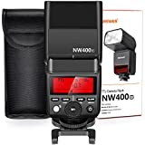 Neewer 2.4G Wireless TTL Speedlite Flash HSS 1/8000s GN36 with Hard Diffuser for Fujifilm X-Pro2, X-T20, X-T2, X-T1, X-Pro1, X-T10, X-E1, X-A3, X100F, X100T Cameras (NW400F)