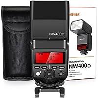 Neewer 2.4G Wireless TTL Speedlite Flash HSS 1/8000s GN36 with Hard Diffuser for Fujifilm X-Pro2, X-T20, X-T2, X-T1, X-Pro1, X-T10, X-E1, X-A3, X100F, X100T Cameras (NW400F)