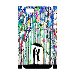 Color your life Personalized 3D Case for Iphone 5,5S, 3D Customized Color your life Case
