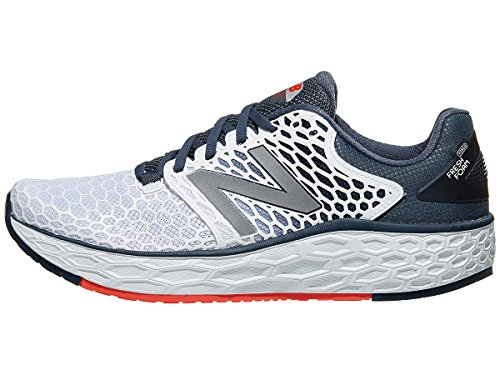 New Balance Men's Fresh Foam Vongo V3 Running Shoe, Size: 8.5 Width: D Color: White/Petrol - Motion Control New Balance