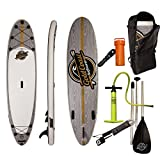 """10'6"""" ISUP Aqua Discover Package - Inflatable Stand Up Paddle Board by Gold Coast Surfboards"""