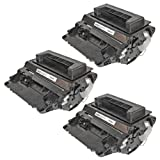LD © Hewlett Packard Compatible (HP) Set of 3 Black 64A / CC364A Laser Toner Cartridges by LD Products, Office Central