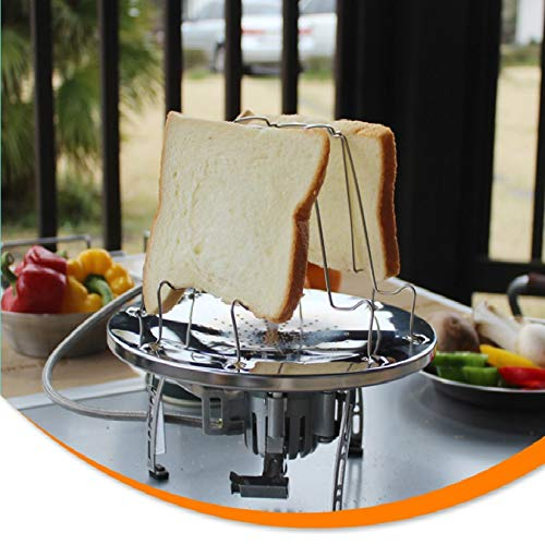 Used, 1 piece 304 Stainless Steel Camping Toaster Rack 4 for sale  Delivered anywhere in USA