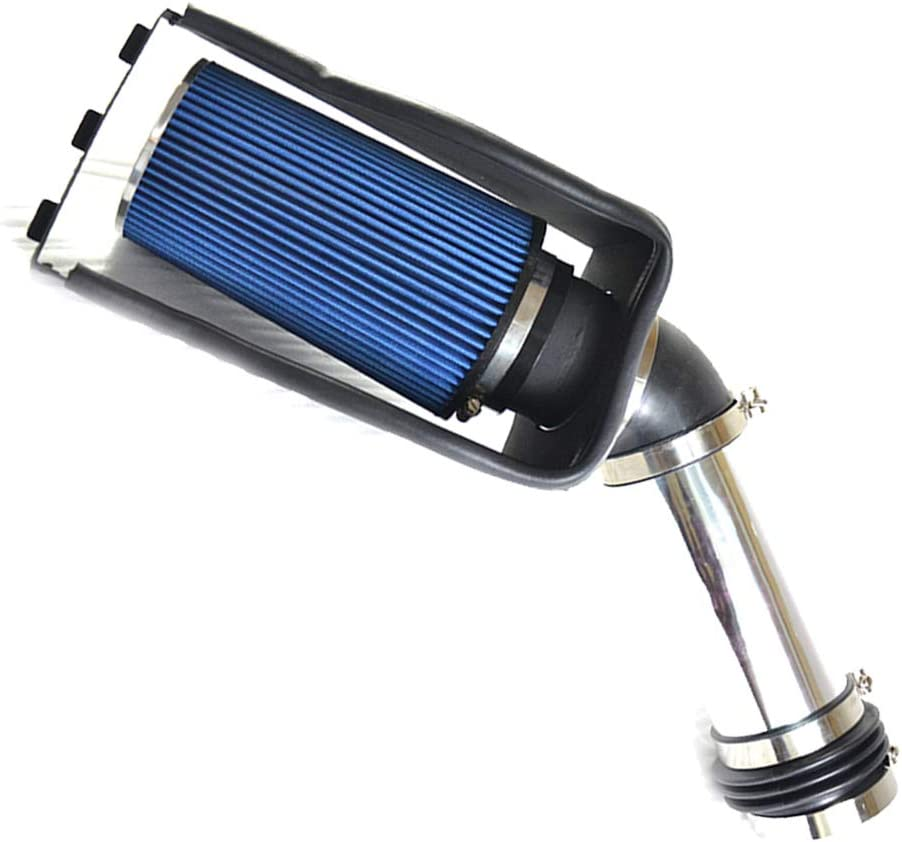 TRIL GEAR 4 Blue Heat Shield Cold Air Intake Filter Fit for 1999-2003 Ford 250//F350 Super Duty /& Excursuion