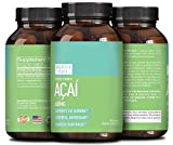 Acai Berry Detox Weight Loss Supplements Antioxidant Superfood Increase Energy Heart Health Burn Belly Fat Immune System Booster Skin Care Anti-Aging Improve Clarity Libido by Northfield Health