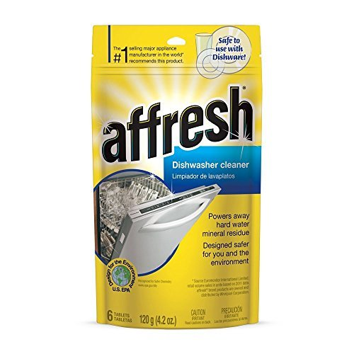 Affresh W10282479 Dishwasher Cleaner, 12 Tablets