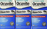 Ocuvite Adult 50+ Vitamin & Mineral Supplement, 50-Count Soft Gels (Pack of 3)