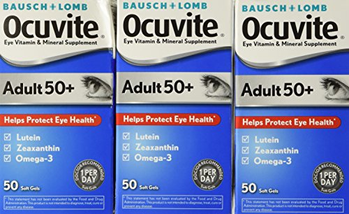 Ocuvite Vitamin Mineral Supplement 50 Count