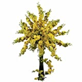 Nearly Natural 2128-YL Delphinium Decorative Stem, 38.5-Inch, Yellow