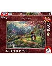 Schmidt Spiele 59672 Thomas Kinkade, Disney, Mulan, puzzel van 1000 stukjes, kleurrijk