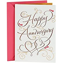 Hallmark Signature Anniversary Greeting Card (Happy Anniversary)