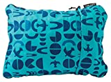 "Therm-a-Rest Compressible Travel Pillow for Camping, Backpacking, Airplanes and Road Trips, Bluebird, Small: 12"" x 16"""