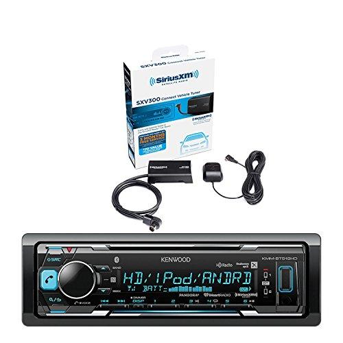 [Kenwood In-Dash Stereo Receiver, Bluetooth, HD Radio, Pandora, iheart Radio Radio With Sirius Vehicle Satellite Radio Tuner] (Kenwood Sirius Satellite Tuner)
