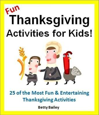 Fun Thanksgiving Activities For Kids 25 Fun Educational