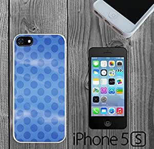Blue Polka Dots on Soft Blue Sky Custom made Case/Cover/skin FOR iPhone 5/5s