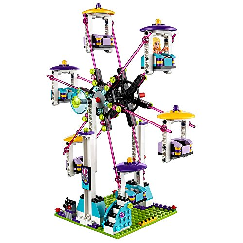 LEGO Friends Amusement Park Roller Coaster 41130 Toy for Girls and Boys