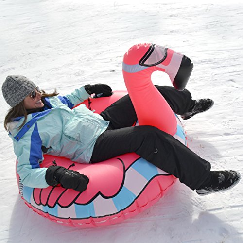 gofloats winter snow tube flying flamingo the ultimate. Black Bedroom Furniture Sets. Home Design Ideas