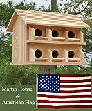Cedar Purple Martin House & FREE 3′ x 5′ American Flag Review