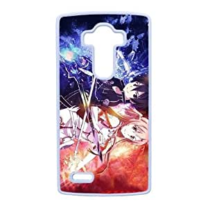 LG G4 Phone Case White Sword Art Online SAO Kirito &amp Asuna WE1TY731855