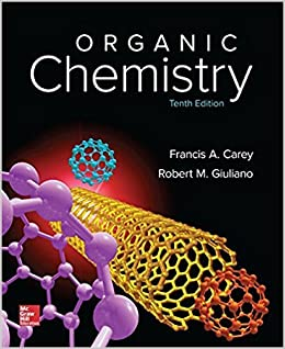 organic chemistry tenth edition softcover francis a carey robert