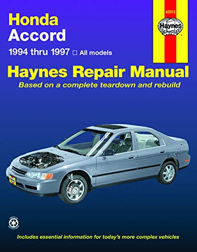 Honda Accord '94'97 (Haynes Repair Manuals) ()