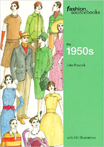 1950s Fashion Books | 50s Fashion History Research The 1950s (Fashion Sourcebooks)  AT vintagedancer.com