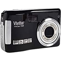 Vivitar VT328P 12.1MP HD Digital Camera with 3x Optical Zoom (Black)