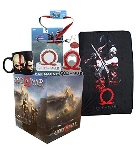 God of War Collectible | Looksee Collector's Box | Blanket | Mug | Lanyard