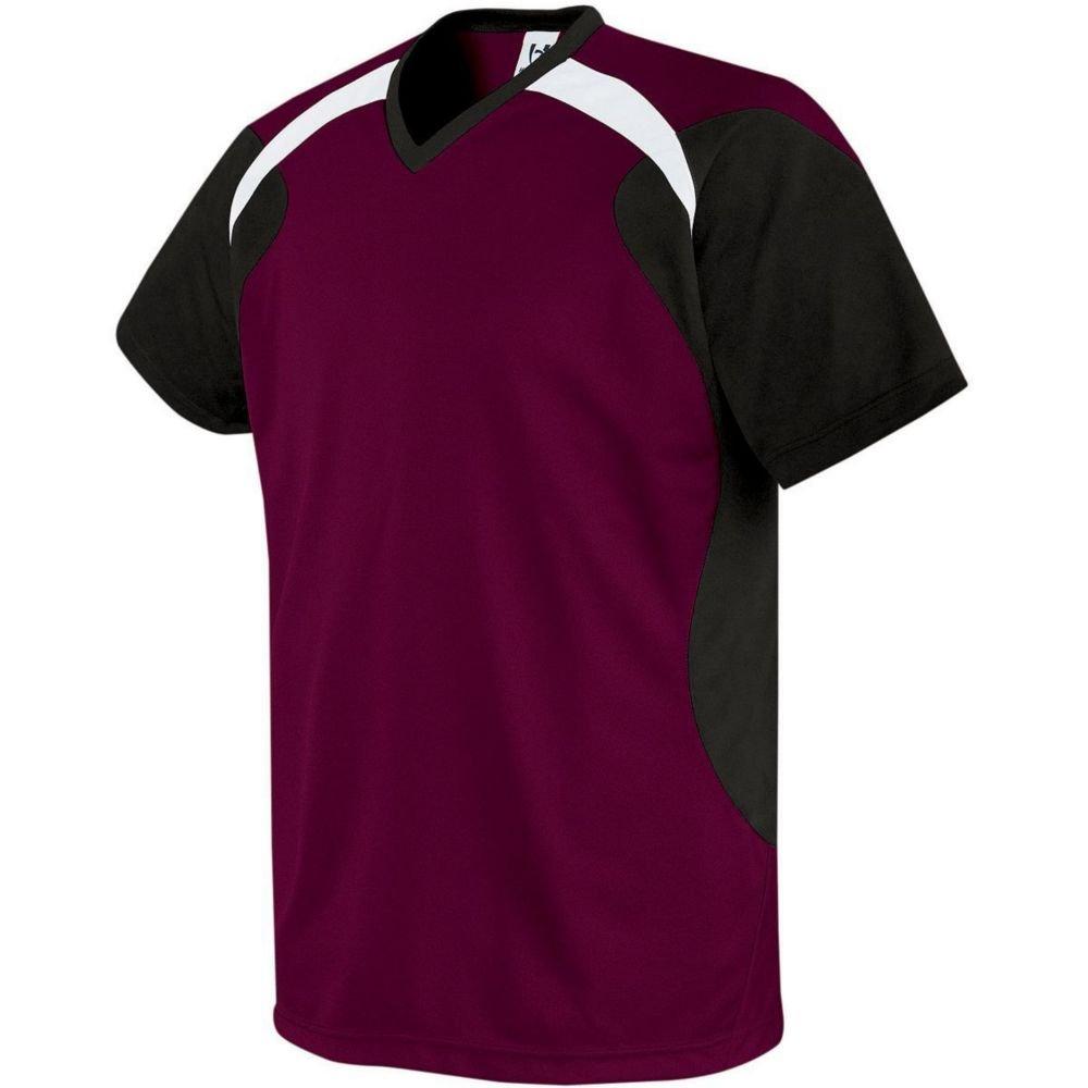 High Five Sportswear SHIRT メンズ B07C1VVXY6 XX-Large|マルーン/ブラック/ホワイト マルーン/ブラック/ホワイト XX-Large