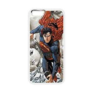 iPhone 6 Plus 5.5 Inch Cell Phone Case White DC Superman SLI_624231