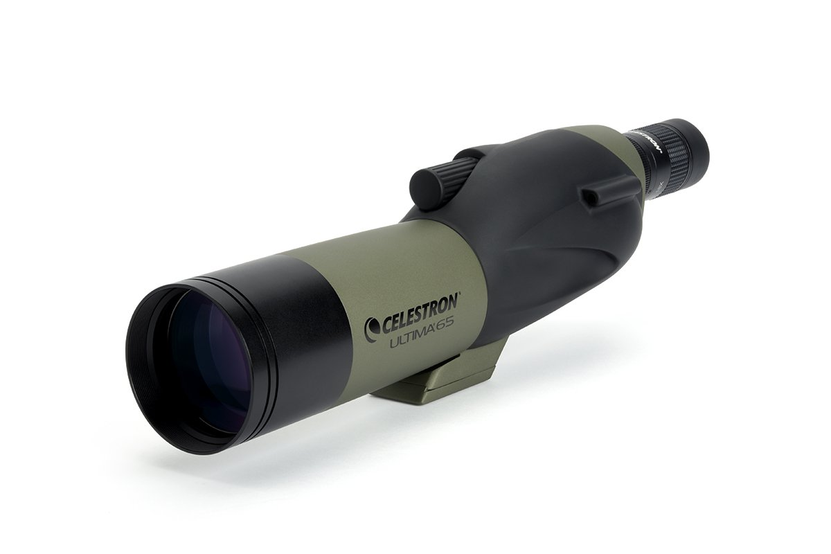 Celestron Ultima 65 18 to 55x65 Straight Spotting Scope 52249