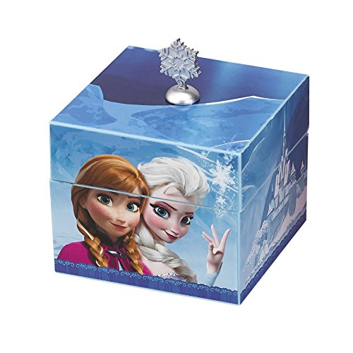 Mr. Christmas Disney Frozen Anna & Elsa Musical Keepsake Box, - Keepsake Musical