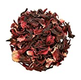 Organic Dried HIBISCUS Flowers Loose Leaf Herbal Tea Grade *A* Premium Quality! Soil Association Certified FREE P&P (500g)