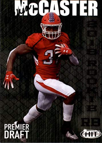 (2019 SAGE Hit Premier Draft High Series #112 Tevin Mccaster RC Rookie Youngstown State Football Trading Card)