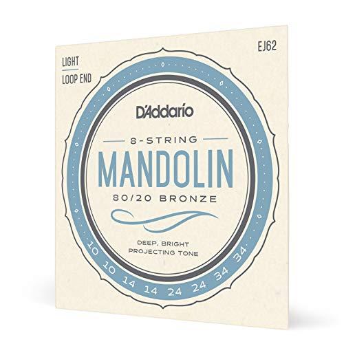 D'Addario EJ62 80/20 Bronze Mandolin Strings