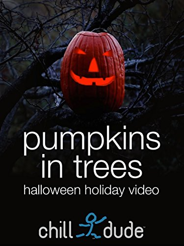 Pumpkins in Trees Halloween Holiday Video -