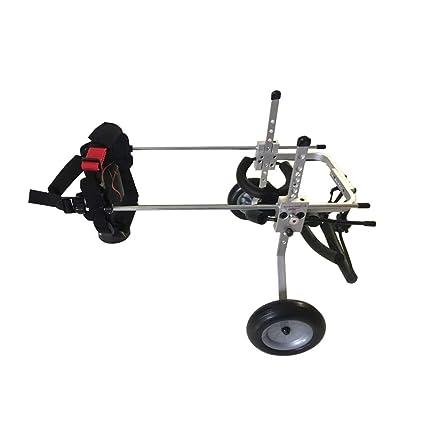 La silla de ruedas para mascotas, tamaño múltiple puede ajustarse a la Scooter para perros