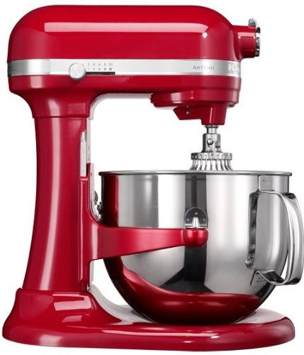 KitchenAid 5KSM7580XEER Küchenmaschine 1.3 HP, 6,9 l Empire, Rot