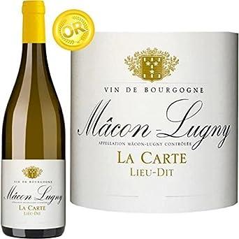 Carte Bourgogne Blanc.Vin Blanc Cave De Lugny 2015 Macon Lugny La Carte Vin Blanc De