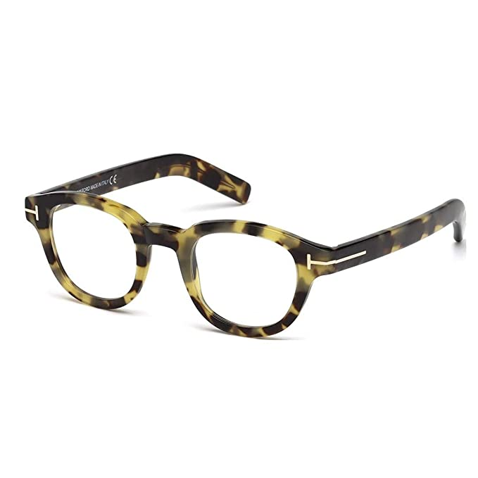 a023890ed8 Tom Ford Round Eyeglasses TF5429 055 Tortoise Gold 47mm FT5429  Amazon.ca   Clothing   Accessories