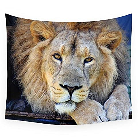 Society6 Lion 1 Wall Tapestry Small: 51
