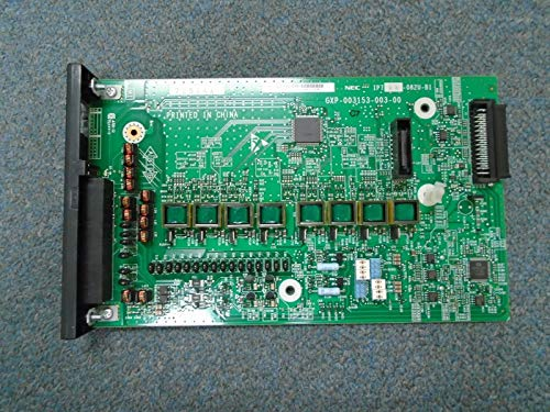 - NEC SL2100 IP7WW-082U-B1 BE116506 8 Port Digital x 2 Port Analog Station Card